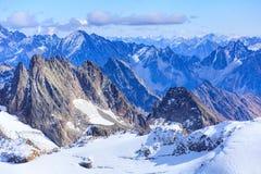 Alpi - vista dal Mt Titlis in Svizzera Fotografia Stock