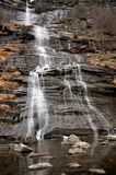 Alpi waterfall3 Fotografia Stock Libera da Diritti
