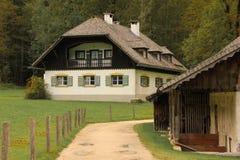 Alpien Beiers huis St Bartholoma Konigssee duitsland stock foto's