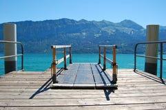 Alpien Dok, Zwitserland. royalty-vrije stock foto