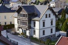 Alpien dorp Prein een der Rax oostenrijk Royalty-vrije Stock Fotografie