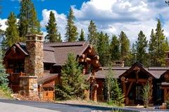 Alpien huis Royalty-vrije Stock Foto's