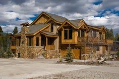 Alpien Huis Royalty-vrije Stock Foto