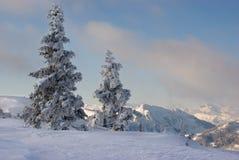 Alpien landschap Royalty-vrije Stock Fotografie
