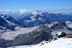 Alpien landschap Stock Afbeelding