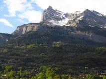 Alpien landschap Stock Afbeeldingen