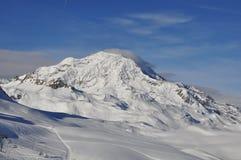 Alpien landschap. Stock Afbeeldingen