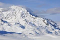 Alpien landschap. Royalty-vrije Stock Afbeeldingen
