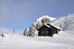 Alpien landschap. Royalty-vrije Stock Afbeelding