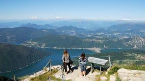 Alpien meer Royalty-vrije Stock Afbeelding