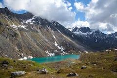 Alpien Meer Stock Foto