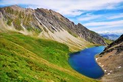 Alpien Meer Stock Fotografie