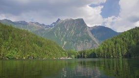 Alpien Meer in Tirol stock footage