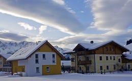 Alpien pensioen Royalty-vrije Stock Foto's
