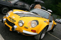 Alpien Renault Royalty-vrije Stock Foto's