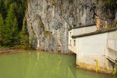 Alpiene barrière Stock Foto