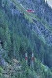 Alpiene Bouw Royalty-vrije Stock Afbeeldingen