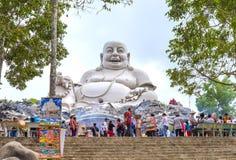 Alpiene de ceremonie van boeddhistenmaitreya Boedha Royalty-vrije Stock Foto