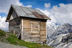 Alpiene Loods Stock Foto's
