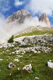 Alpiene mening Stock Afbeelding