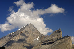 Alpiene Preaks stock foto's