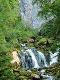 Alpiene rivier Pießling Stock Afbeeldingen