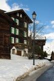 Alpiene Scène stock fotografie