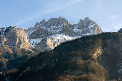 Alpiene Scène, Frankrijk Stock Foto
