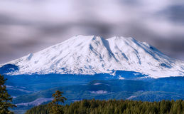 Alpiene Scène van MT St Helens Stock Foto's