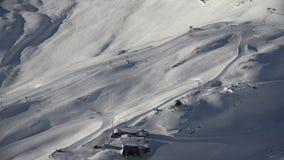 Alpiene ski-toevlucht Zugspitzplatt stock video