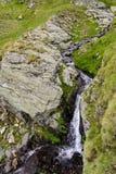 Alpiene stroom Stock Afbeelding