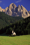 Alpiene toneel Stock Foto's