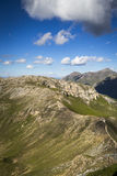 Alpiene top Stock Foto's
