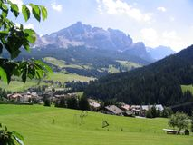 Alpiene vallei Royalty-vrije Stock Afbeelding