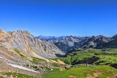 Alpiene Vallei Stock Foto's