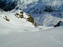 Alpiene vrede Stock Foto's