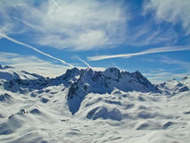Alpiene vrede Royalty-vrije Stock Fotografie