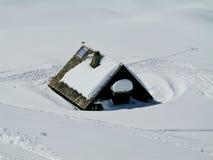 Alpiene vrede Stock Foto
