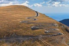 Alpiene weg Royalty-vrije Stock Afbeeldingen