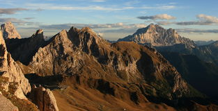 Alpiene weg Stock Foto's