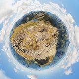 Alpiene wereld Royalty-vrije Stock Fotografie