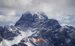 Alpiene wind Royalty-vrije Stock Foto