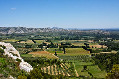 The Alpilles Royalty Free Stock Images