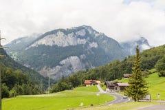 Alpin自然在瑞士 库存照片