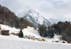 alpin Österrike plats Royaltyfria Bilder