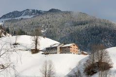 alpin Österrike plats Fotografering för Bildbyråer