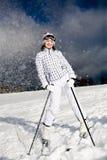 alpin滑雪 免版税库存照片