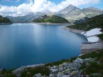 alpin alpslakeweissee Arkivbilder