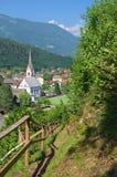 Alpin by av Sachsenburg Fotografering för Bildbyråer