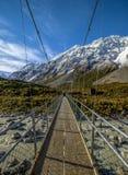 alpin bro Arkivfoto